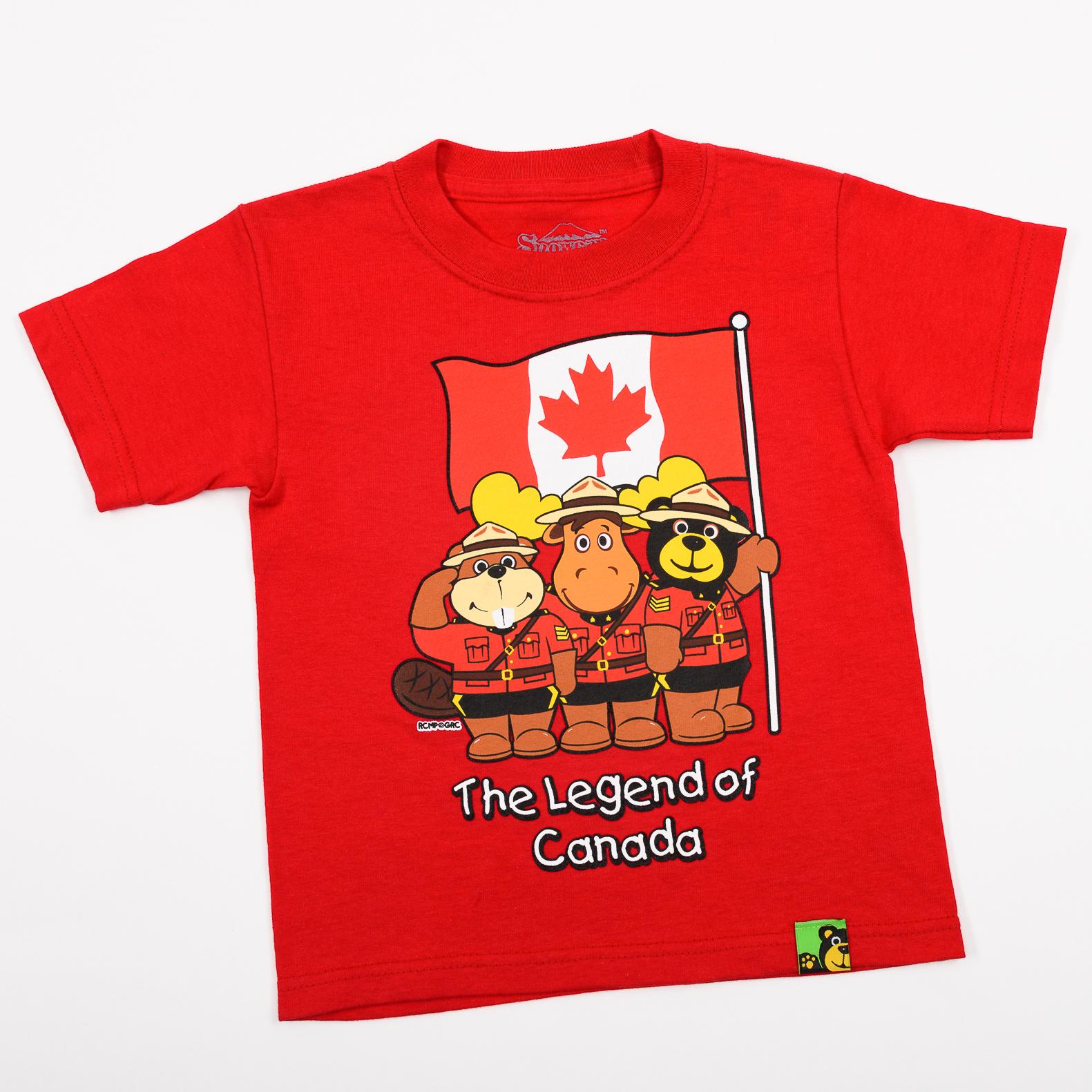 RCMP Parade Kids T Shirt
