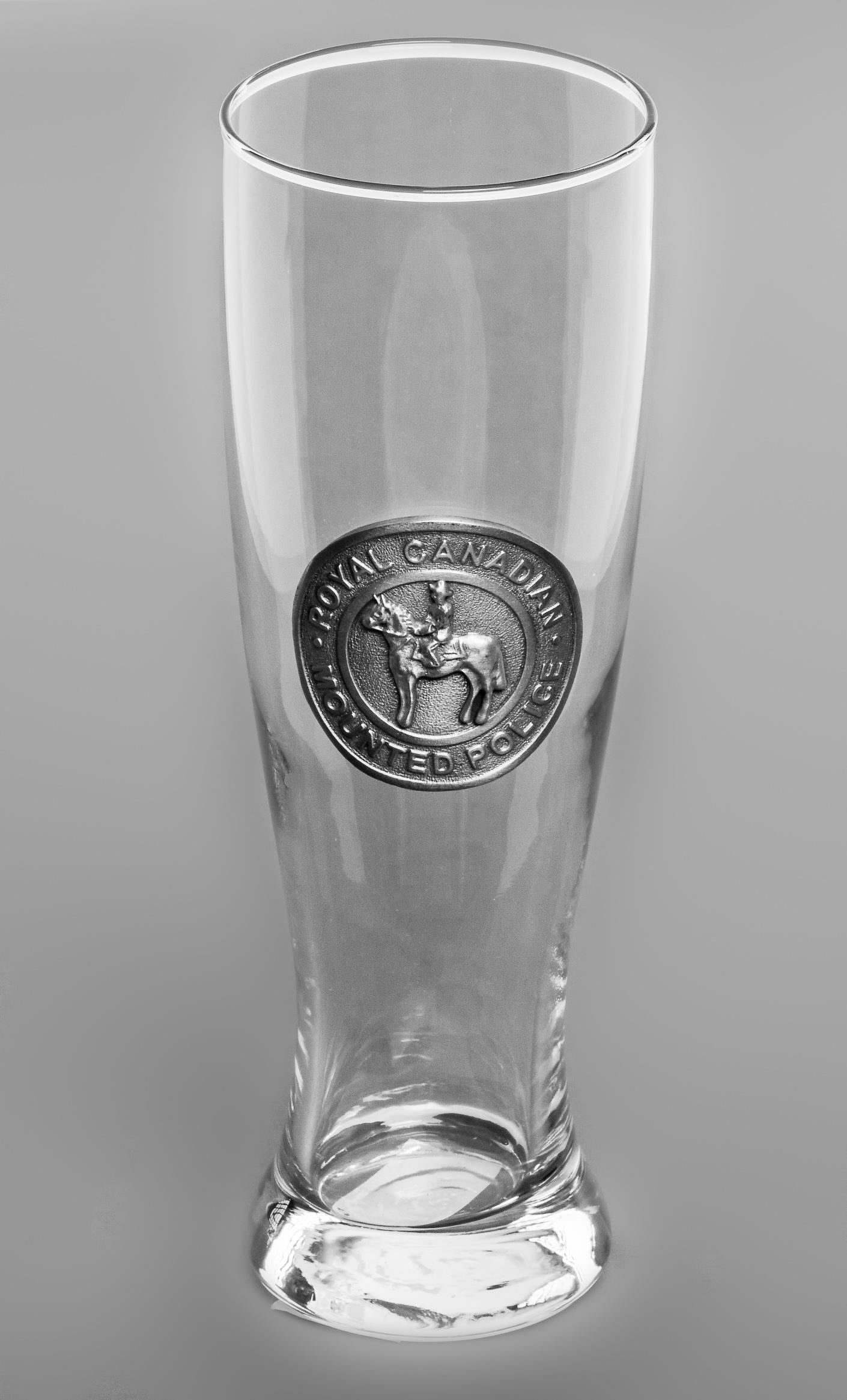 Embossed Pilsner Glass