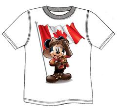 RCMP Mickey Mouse T-Shirt